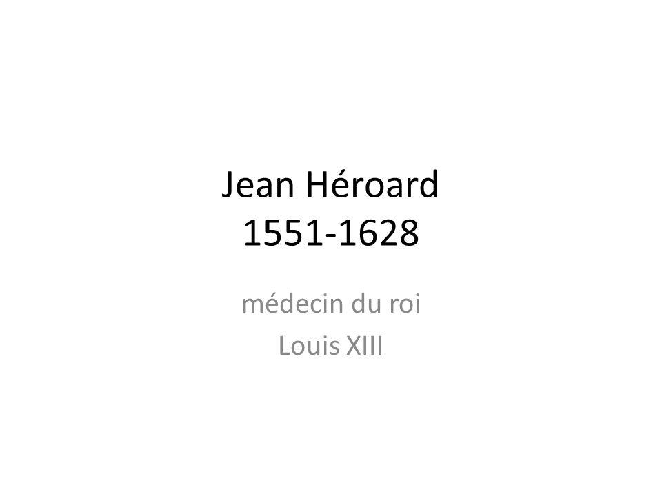 médecin du roi Louis XIII