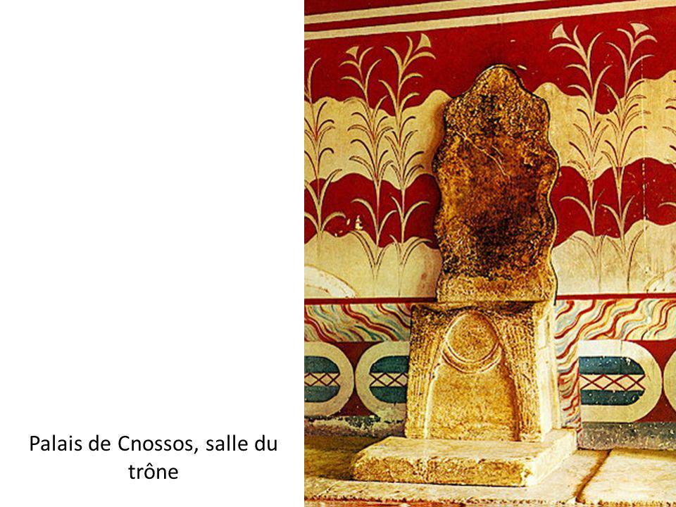 Palais de Cnossos, salle du trône