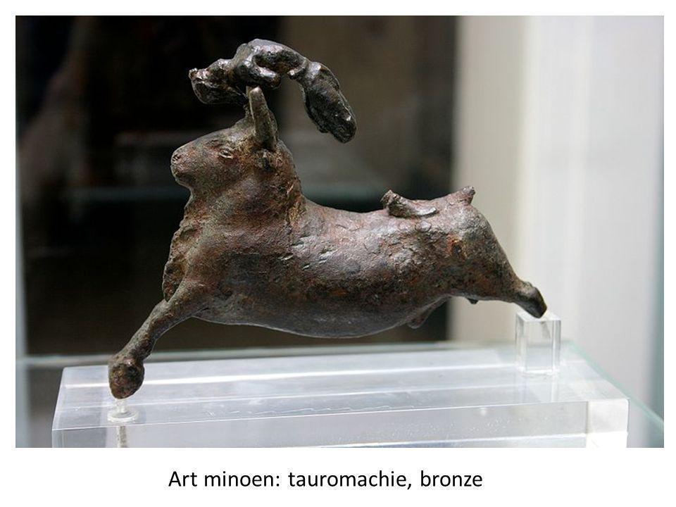 Art minoen: tauromachie, bronze