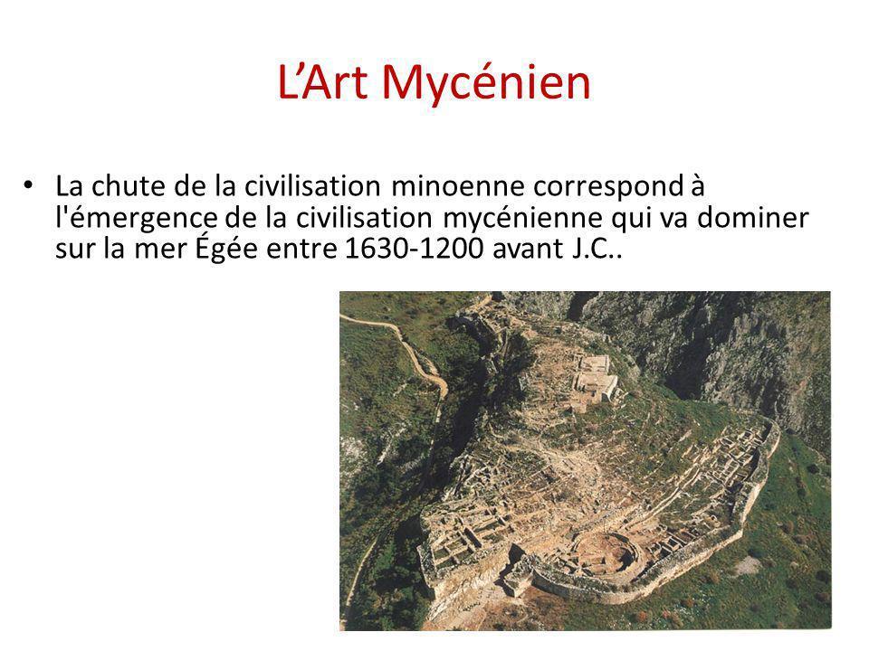 L'Art Mycénien