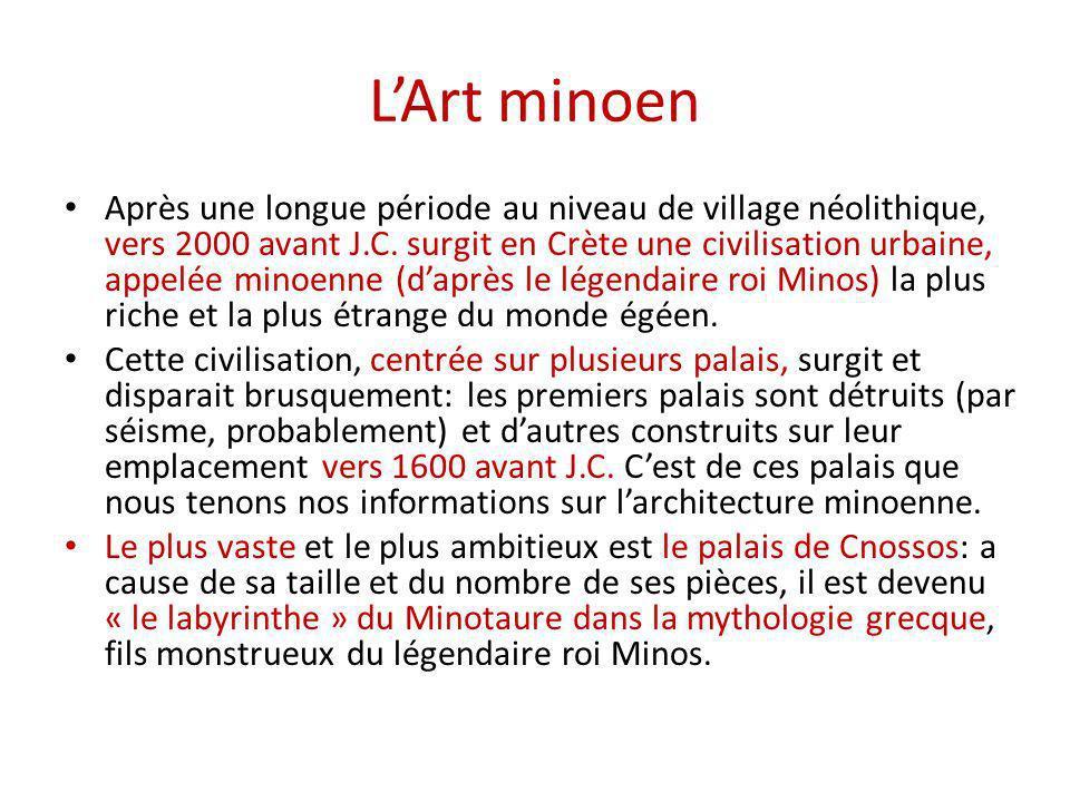 L'Art minoen