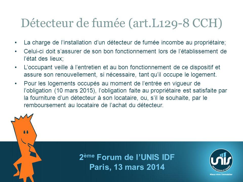 Détecteur de fumée (art.L129-8 CCH)