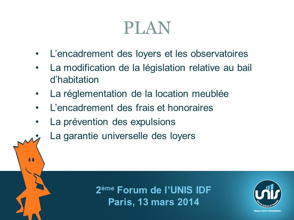 2 me forum de l unis idf paris 13 mars ppt t l charger - Reglementation location meublee ...