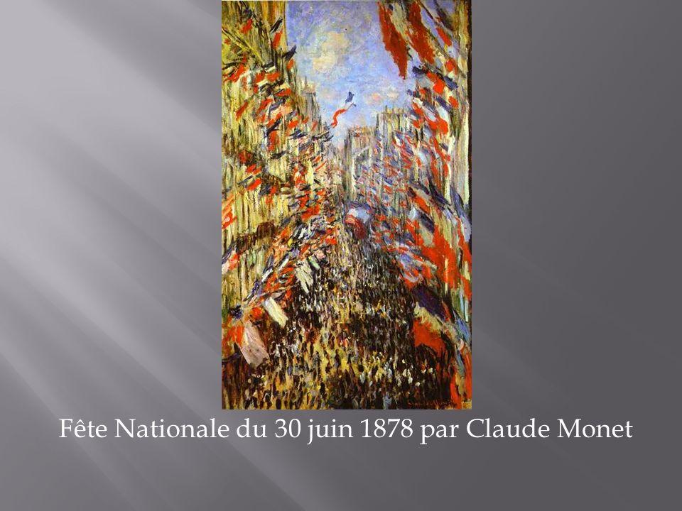 Fête Nationale du 30 juin 1878 par Claude Monet