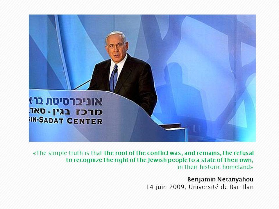 Benjamin Netanyahou 14 juin 2009, Université de Bar-Ilan