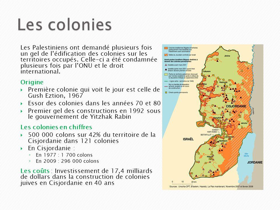 Les colonies