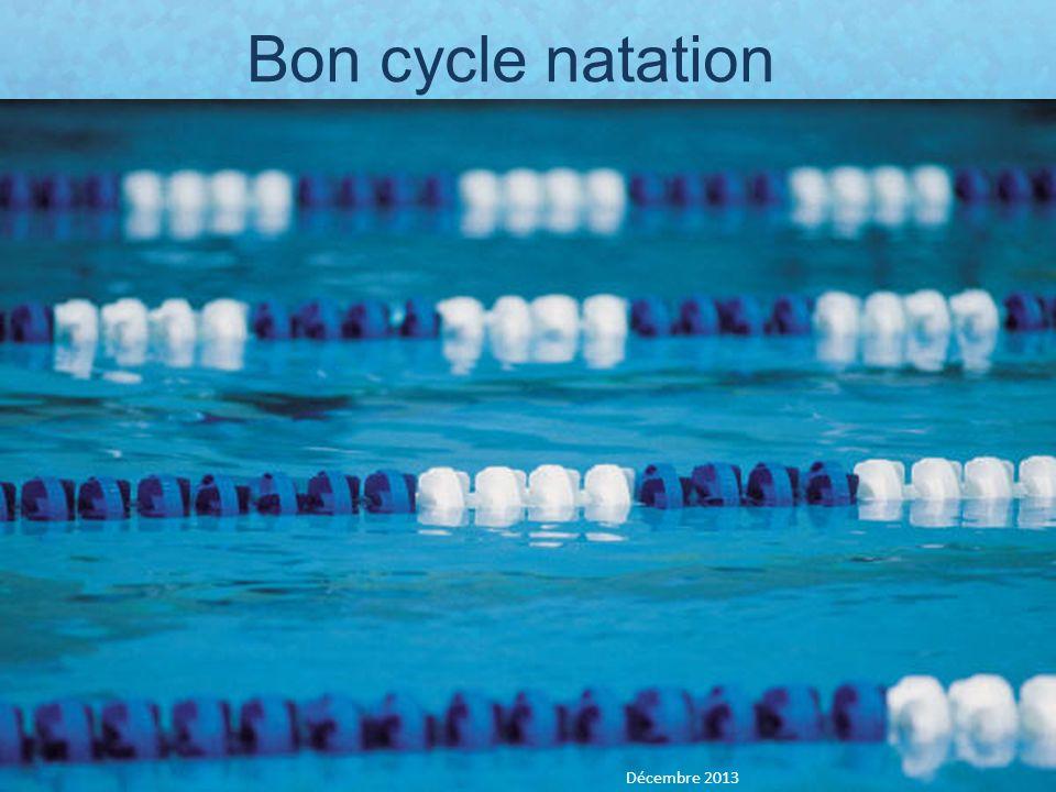 Bon cycle natation Décembre 2013