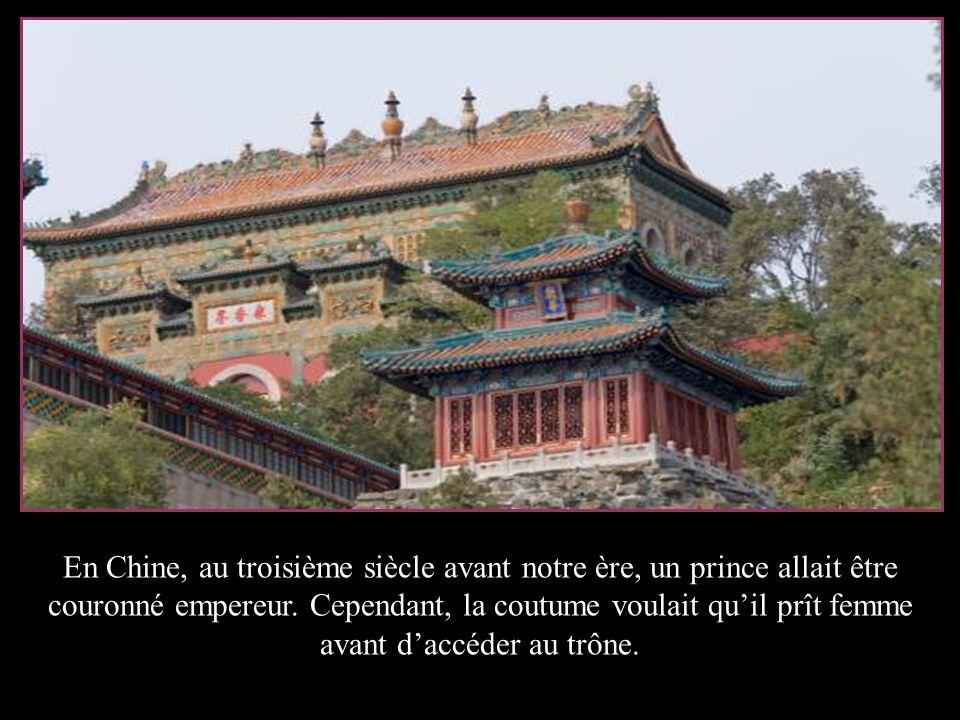 En Chine, au troisième siècle avant notre ère, un prince allait être couronné empereur.