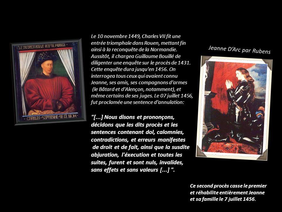 Jeanne D'Arc par Rubens