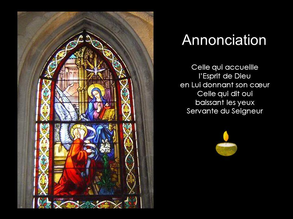 Annonciation Celle qui accueille l'Esprit de Dieu