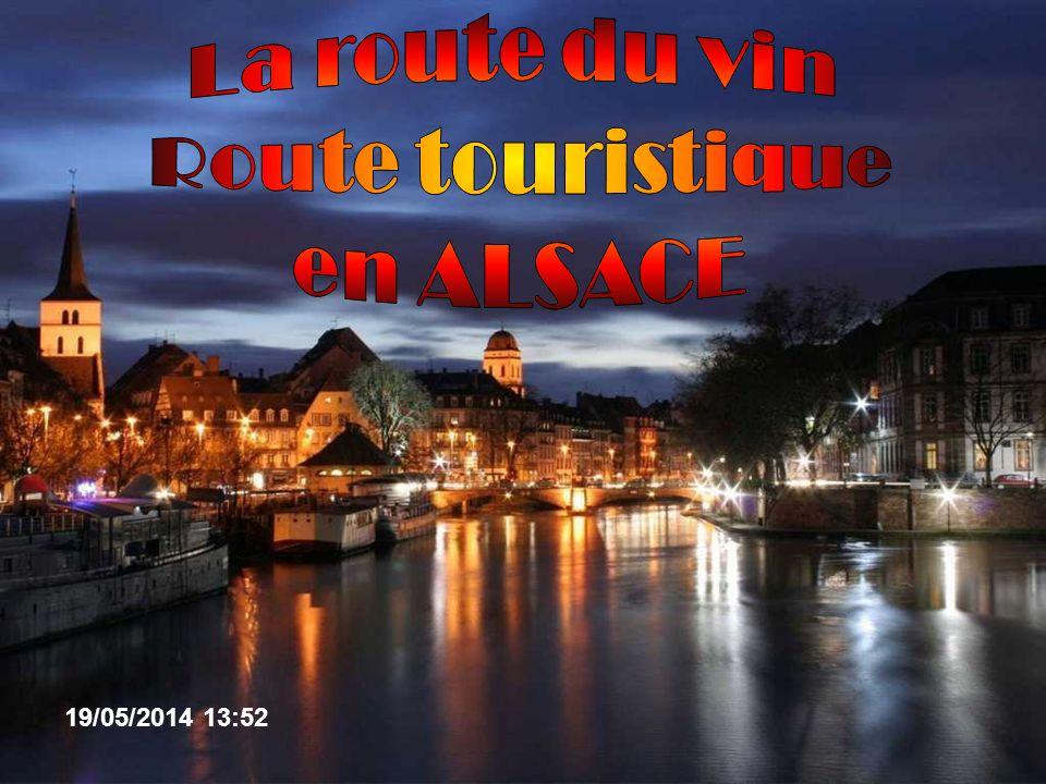 La route du vin Route touristique en ALSACE