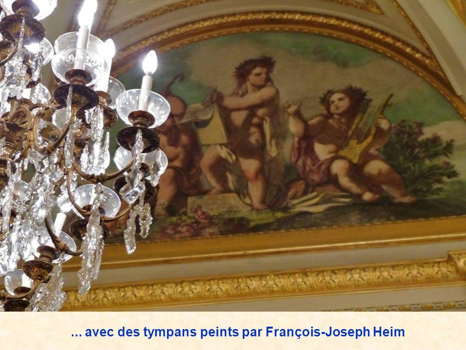 ... avec des tympans peints par François-Joseph Heim