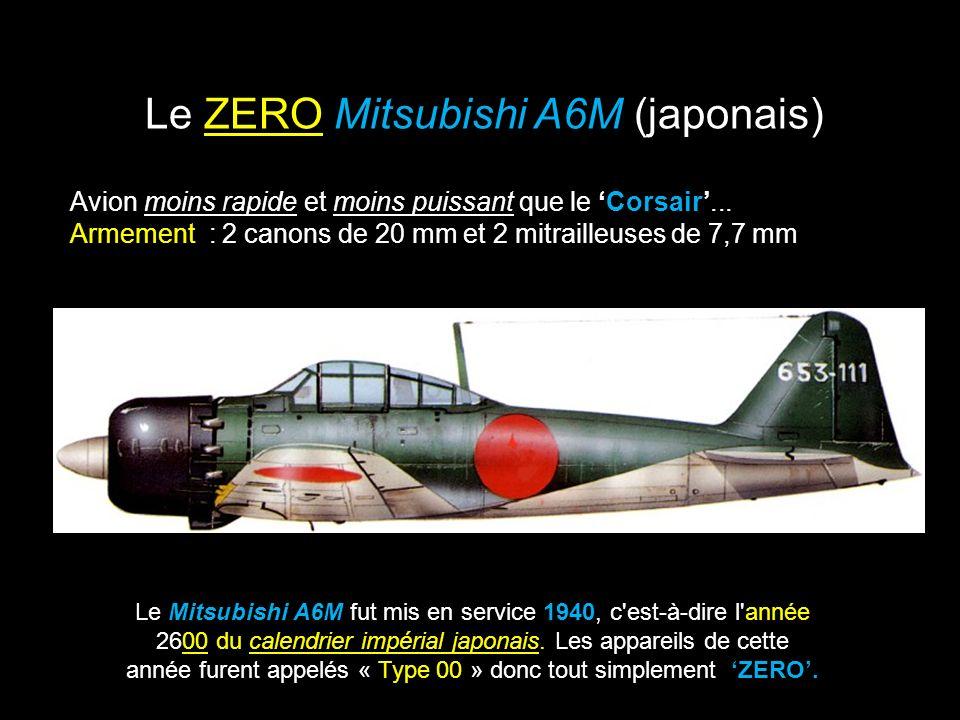 Le ZERO Mitsubishi A6M (japonais)