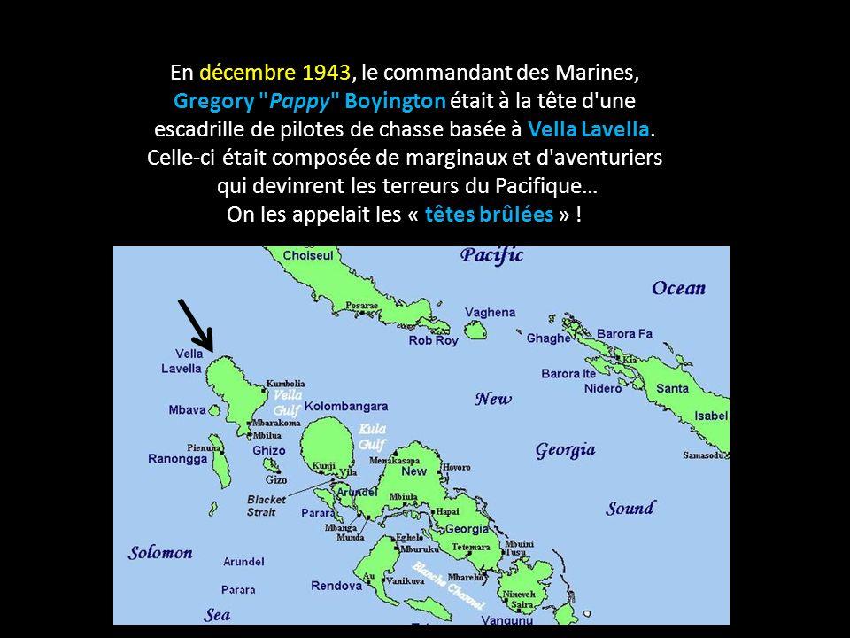 En décembre 1943, le commandant des Marines,