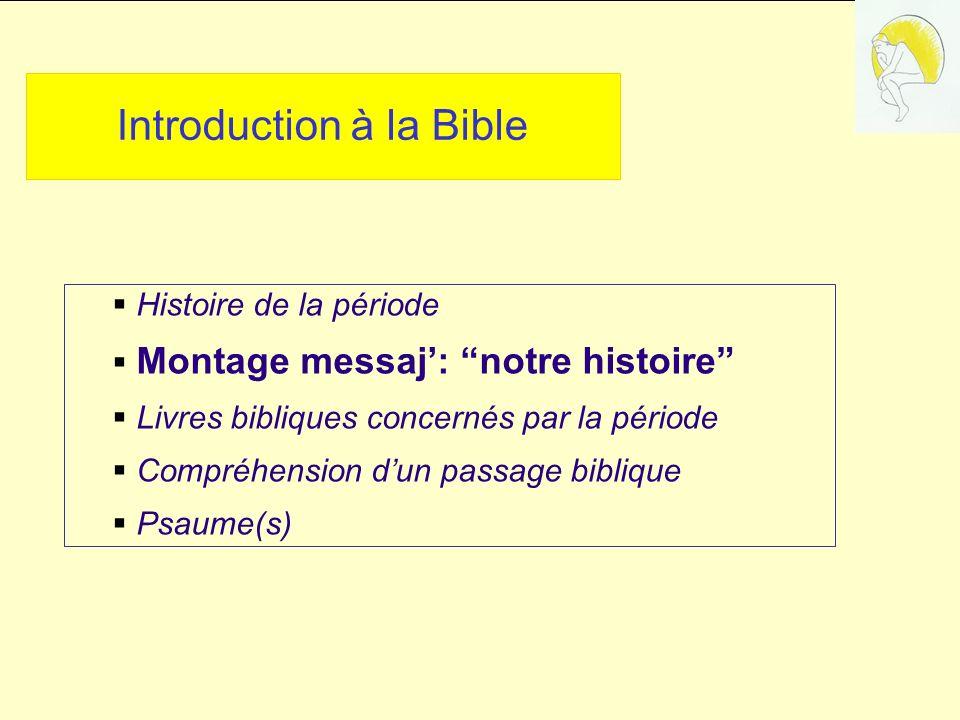 Introduction à la Bible