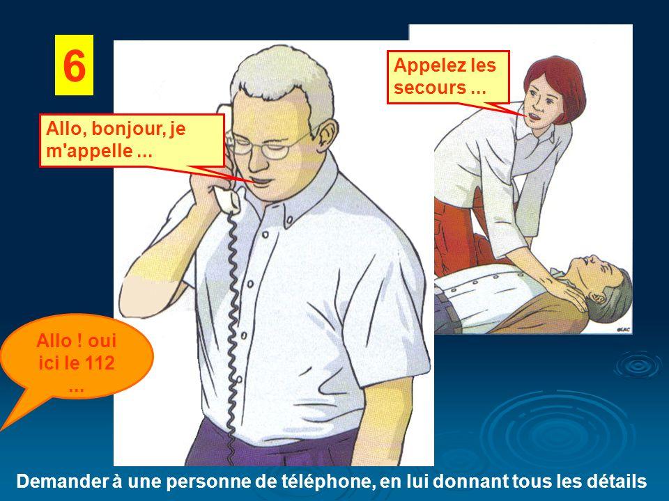 Demander à une personne de téléphone, en lui donnant tous les détails