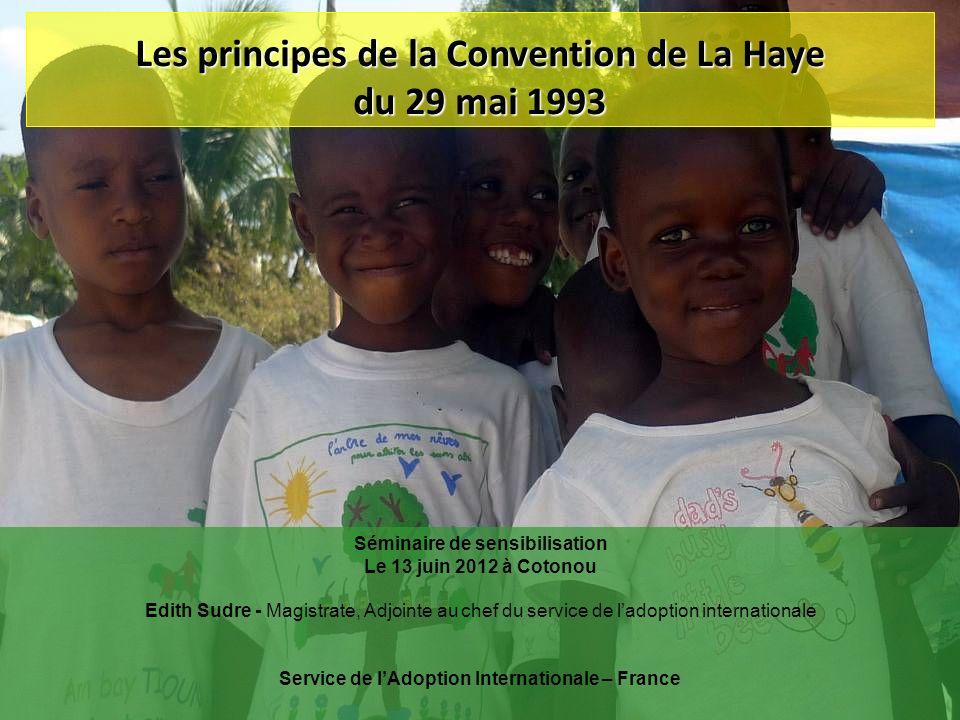 Les principes de la Convention de La Haye du 29 mai 1993