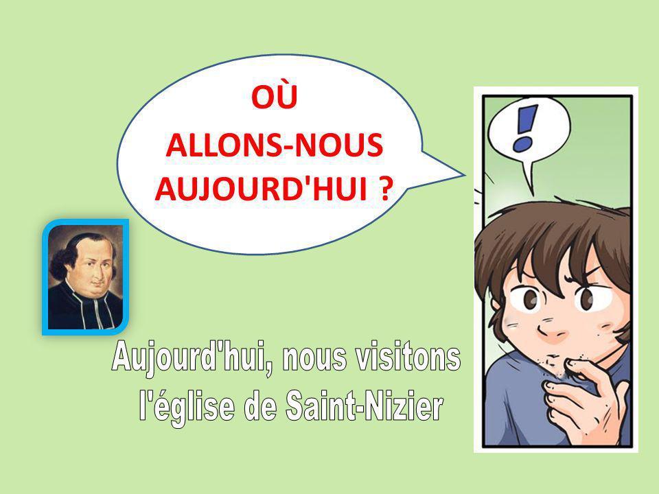 ALLONS-NOUS AUJOURD HUI