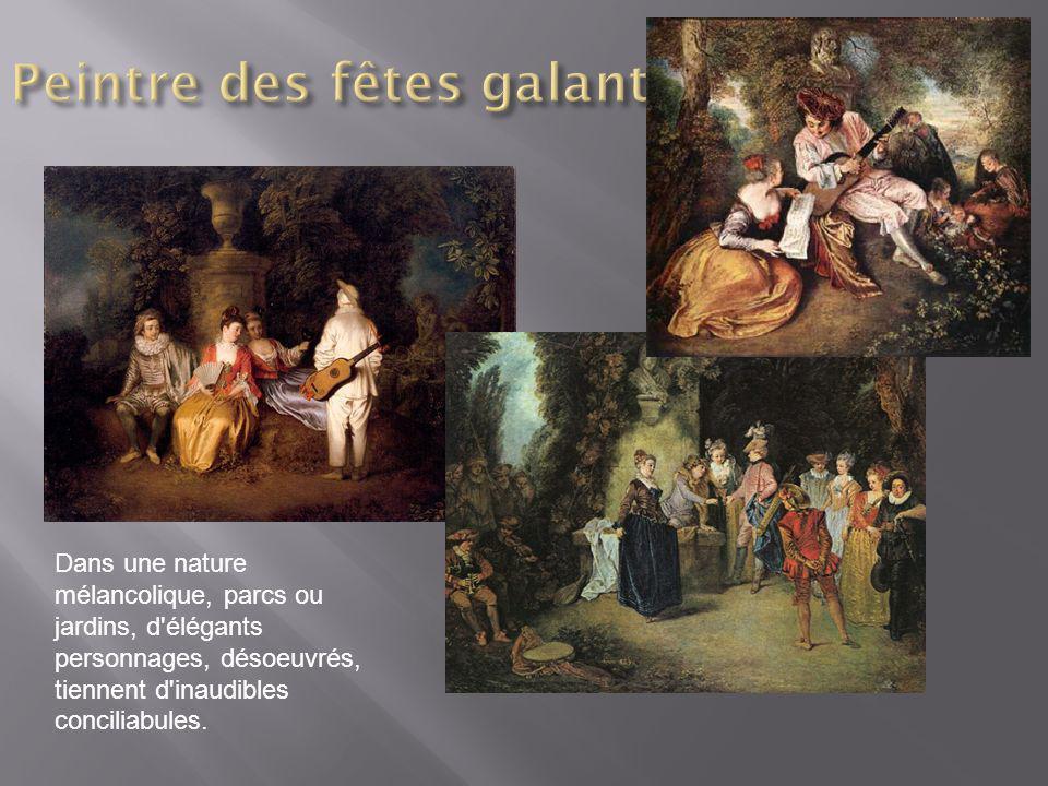 Peintre des fêtes galantes