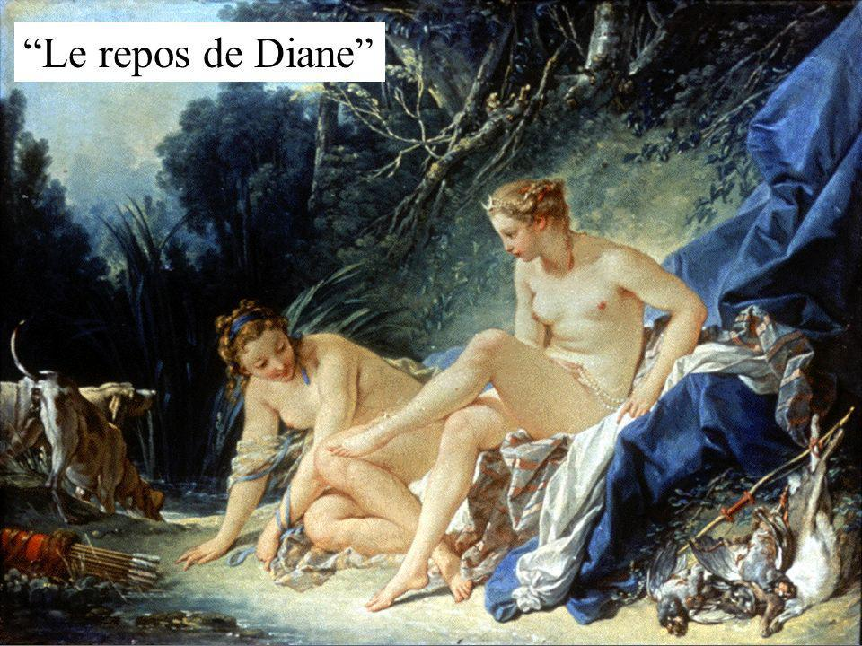 Le repos de Diane