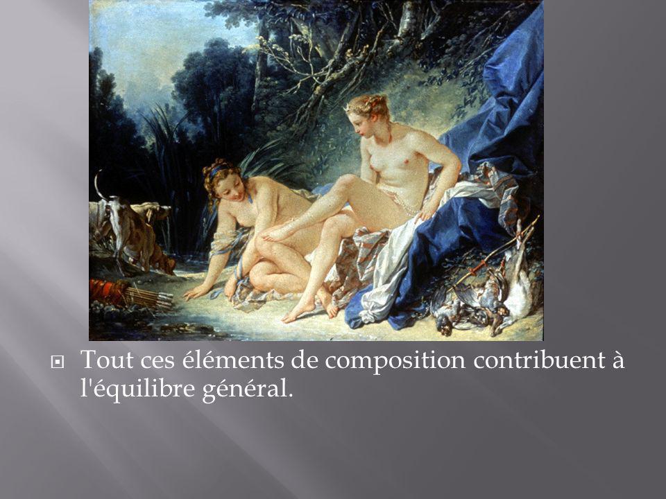 Tout ces éléments de composition contribuent à l équilibre général.