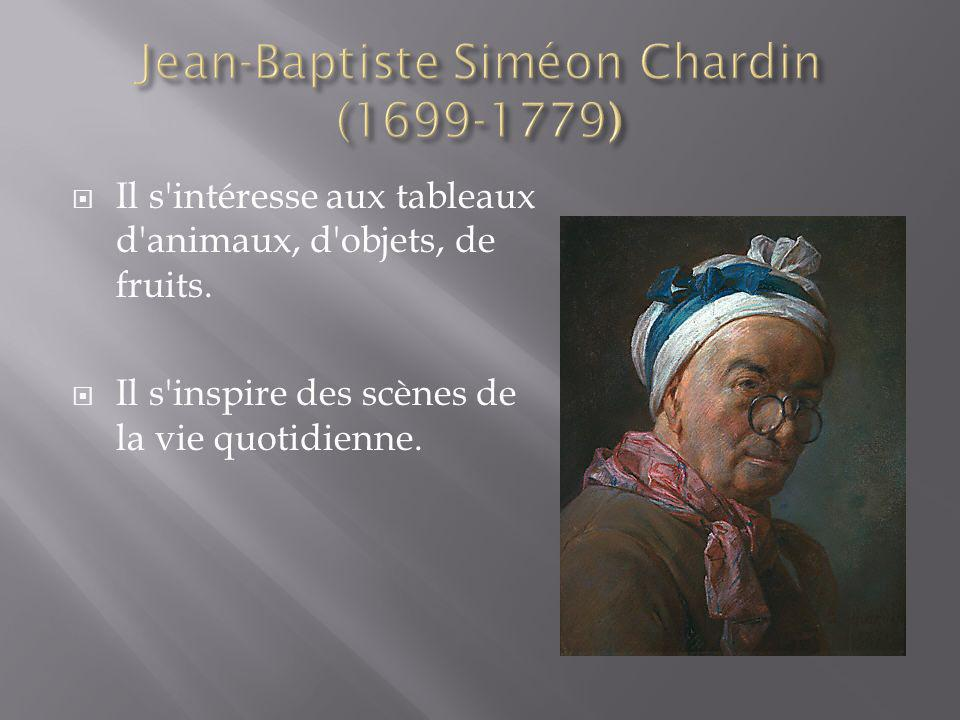 Jean-Baptiste Siméon Chardin (1699-1779)