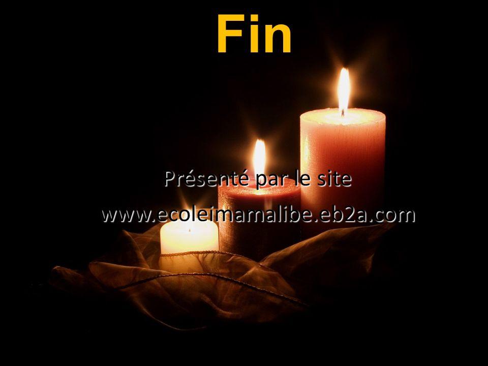 Fin Musique : Présenté par le site www.ecoleimamalibe.eb2a.com