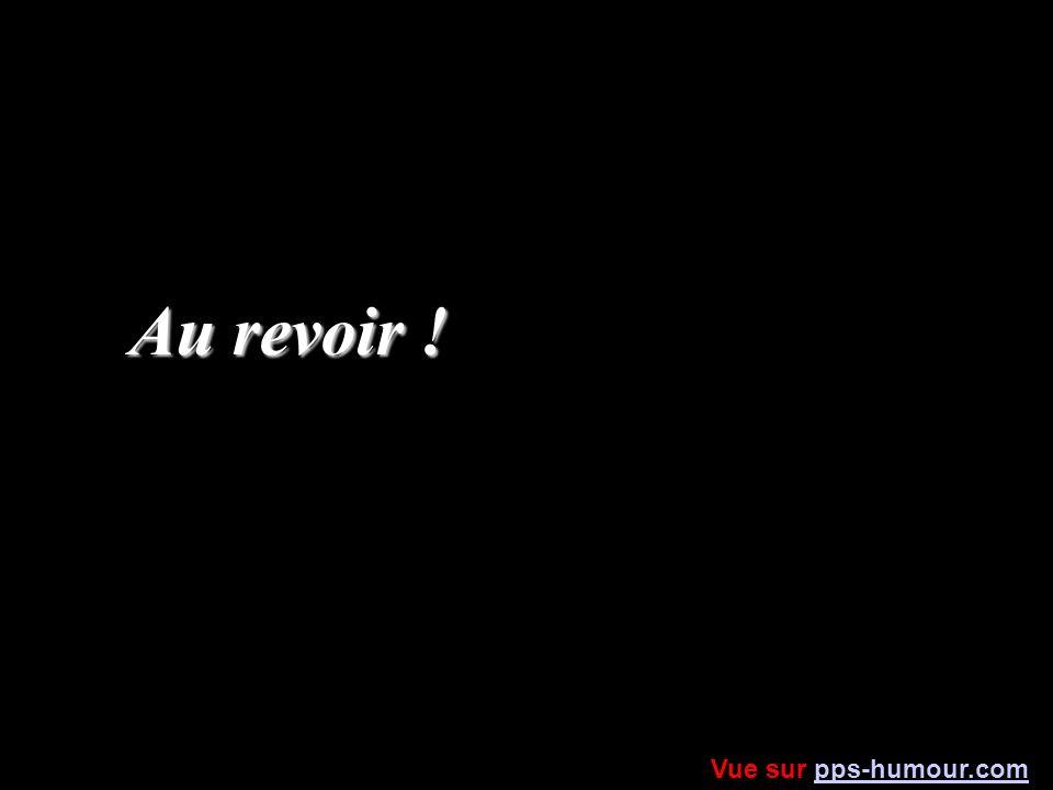 Au revoir ! Vue sur pps-humour.com