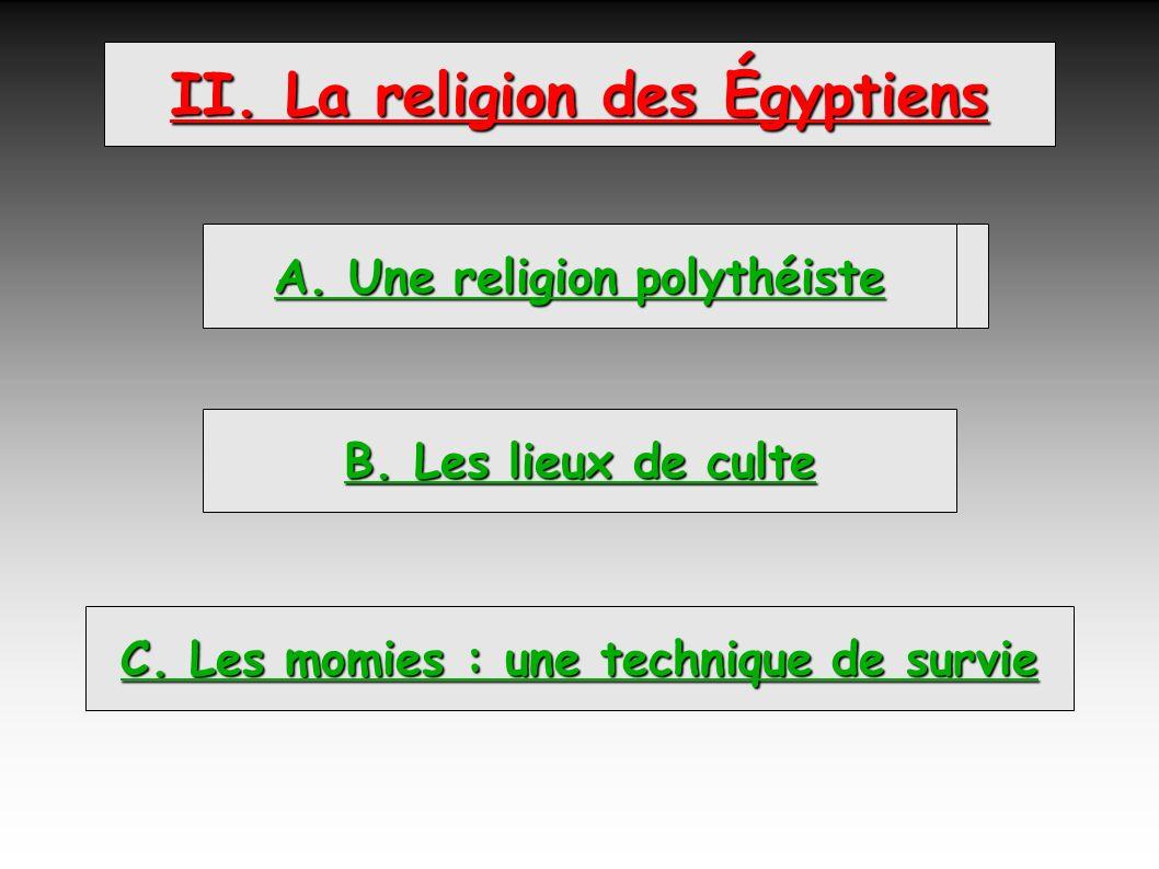 II. La religion des Égyptiens