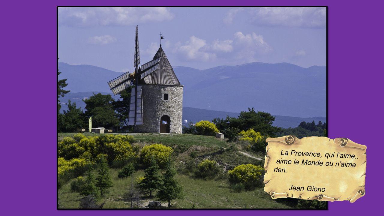 La Provence, qui l'aime.. aime le Monde ou n'aime rien. Jean Giono