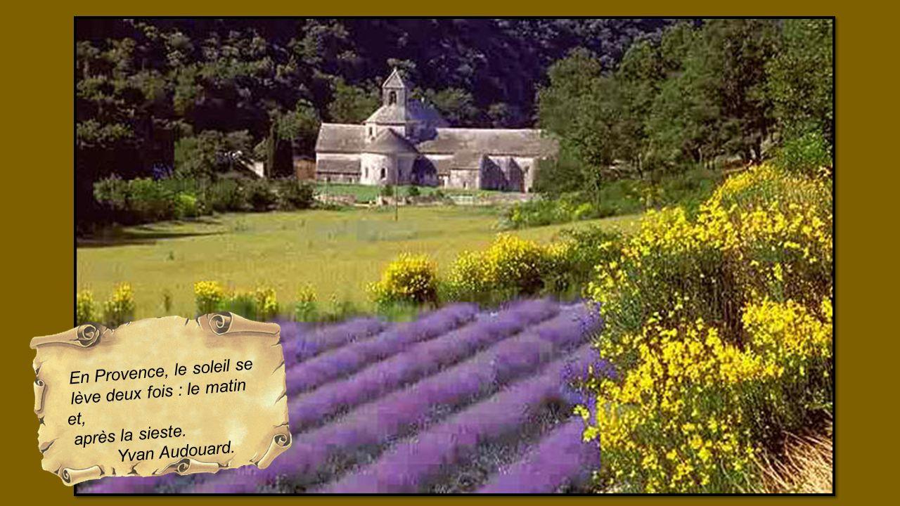En Provence, le soleil se