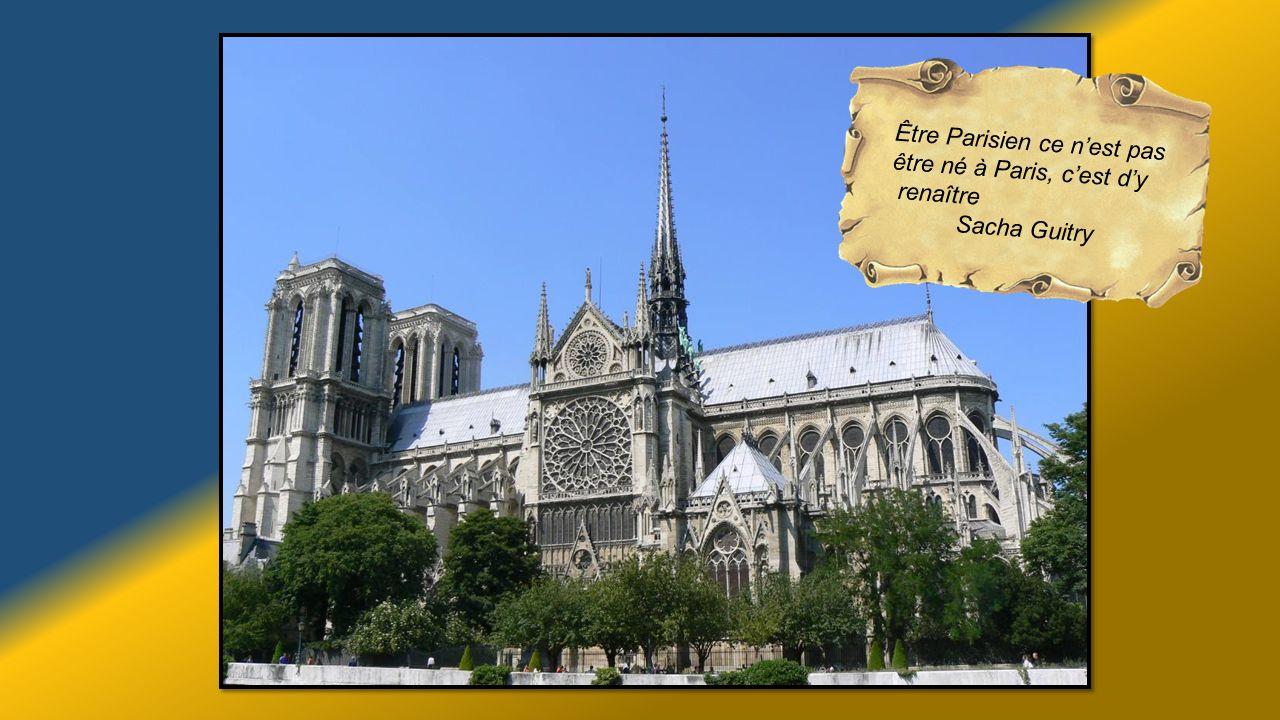 Être Parisien ce n'est pas être né à Paris, c'est d'y