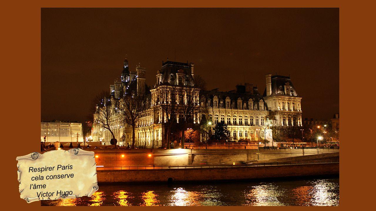 Respirer Paris cela conserve l'âme Victor Hugo