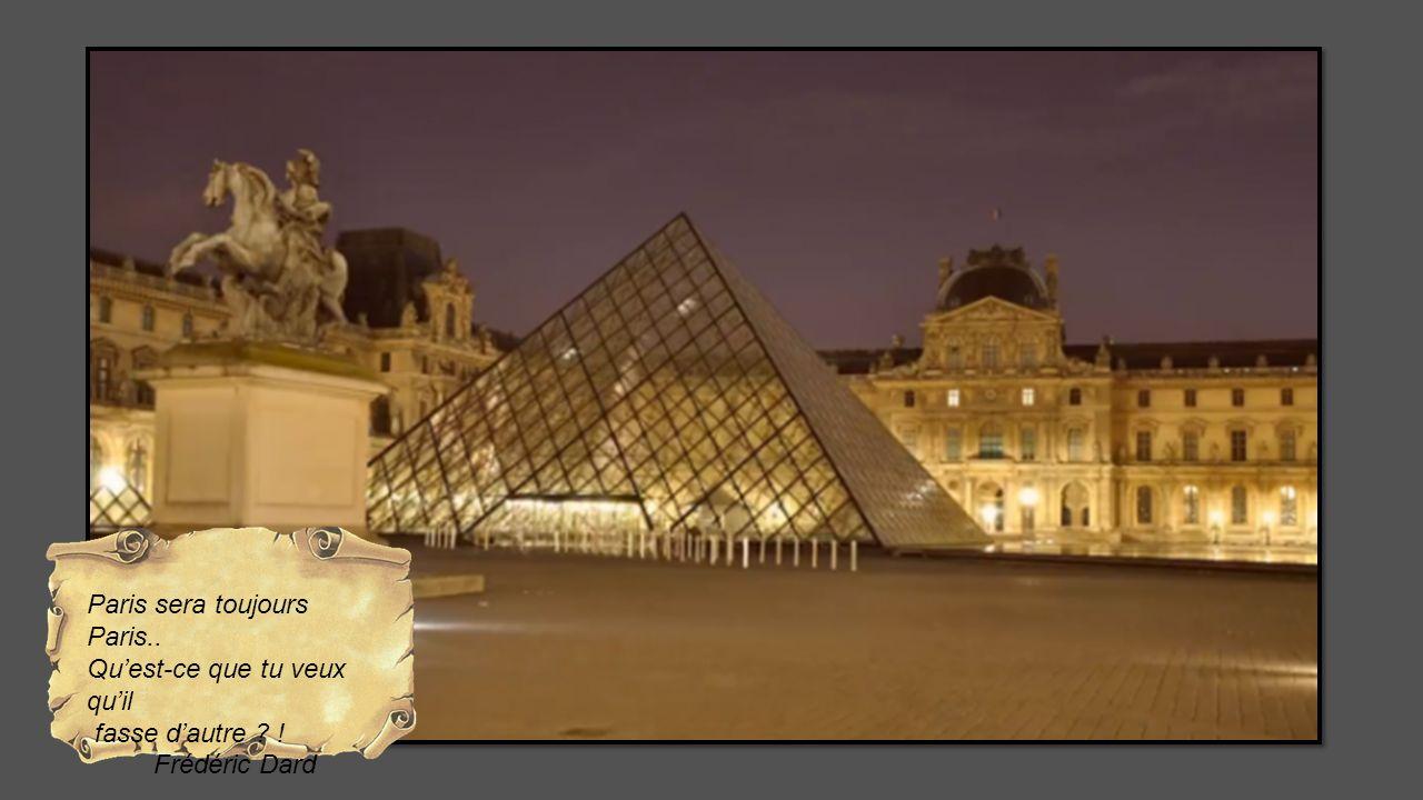 Paris sera toujours Paris..