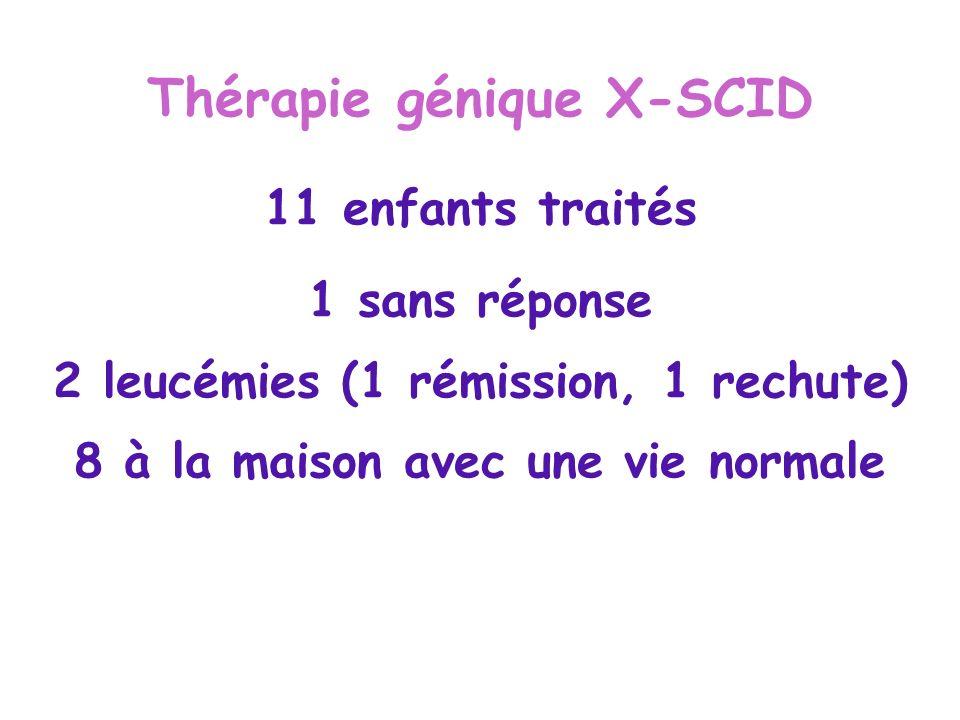 Thérapie génique X-SCID