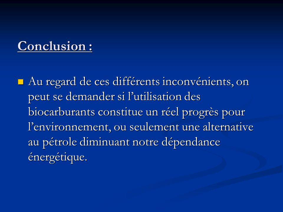 Conclusion :