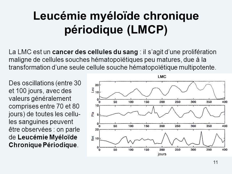 Leucémie myéloïde chronique périodique (LMCP)