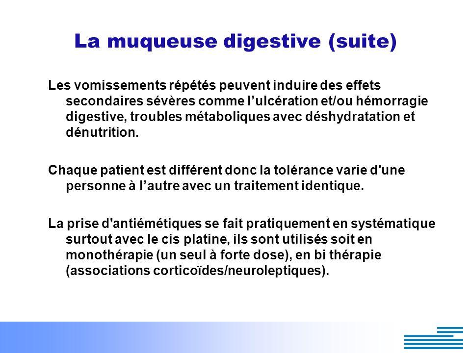 La muqueuse digestive (suite)
