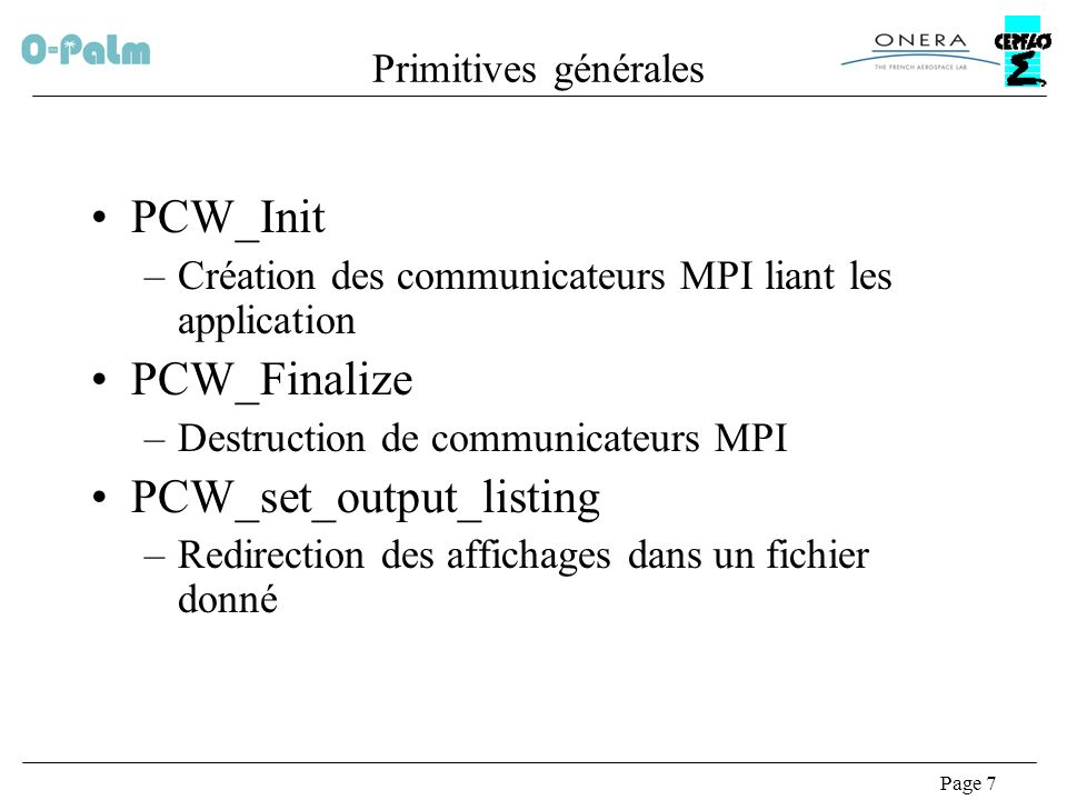 PCW_set_output_listing