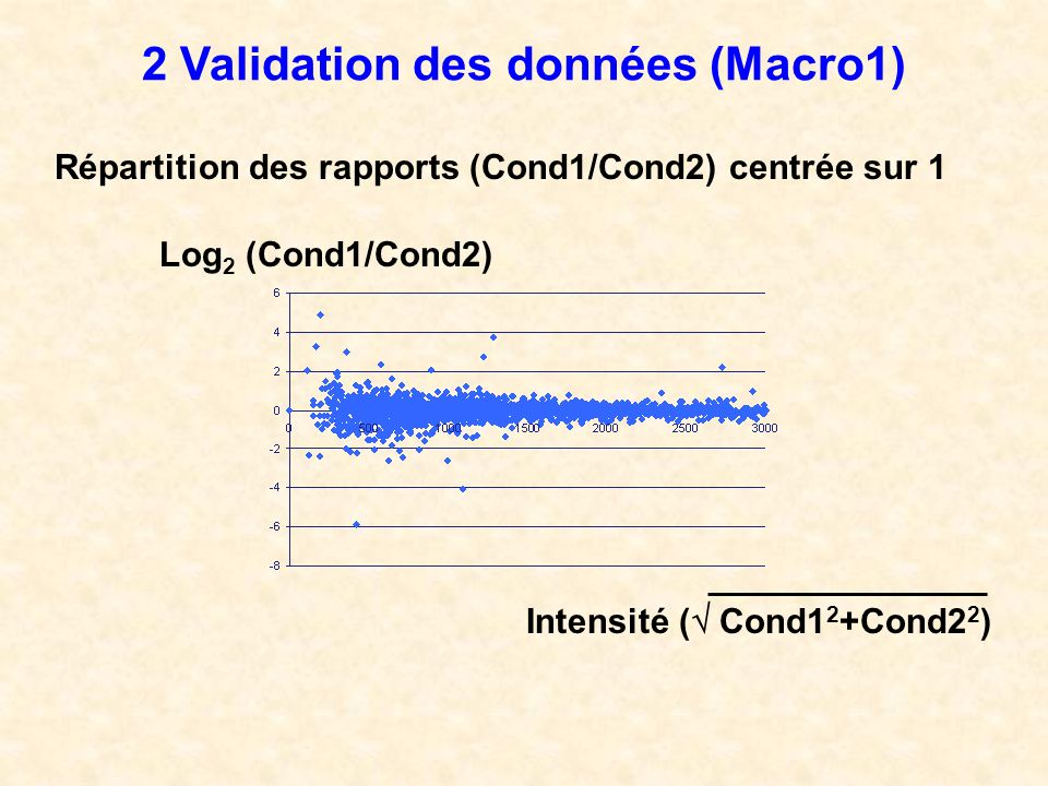 2 Validation des données (Macro1)