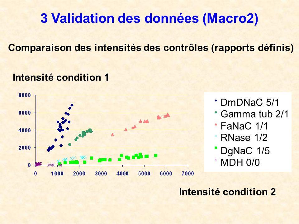 3 Validation des données (Macro2)