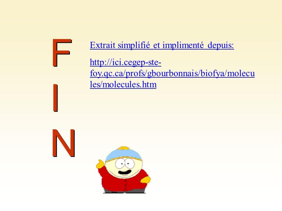 FIN Extrait simplifié et implimenté depuis: