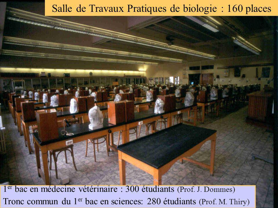 Grande salle des Travaux Pratiques