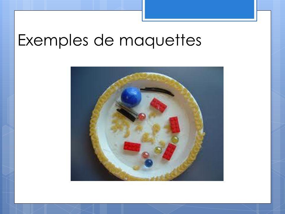Exemples de maquettes