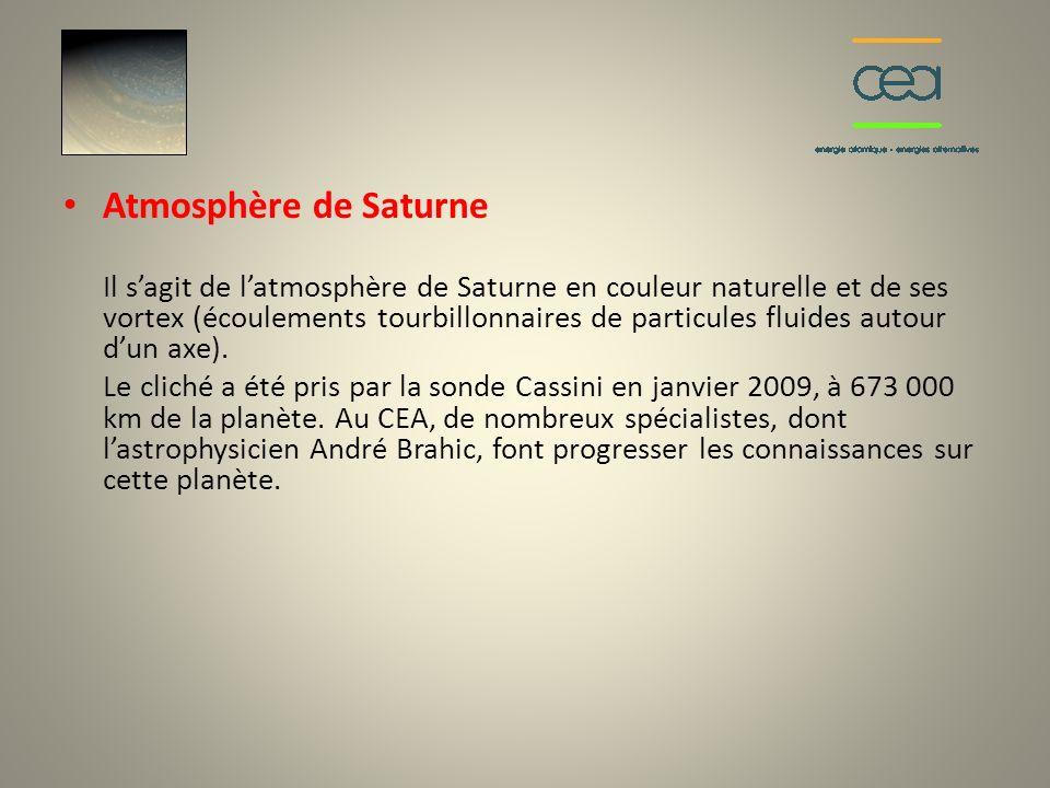 Atmosphère de Saturne