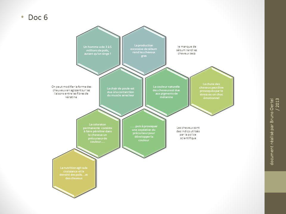 Doc 6 document réalisé par Bruno Oertel / 2013