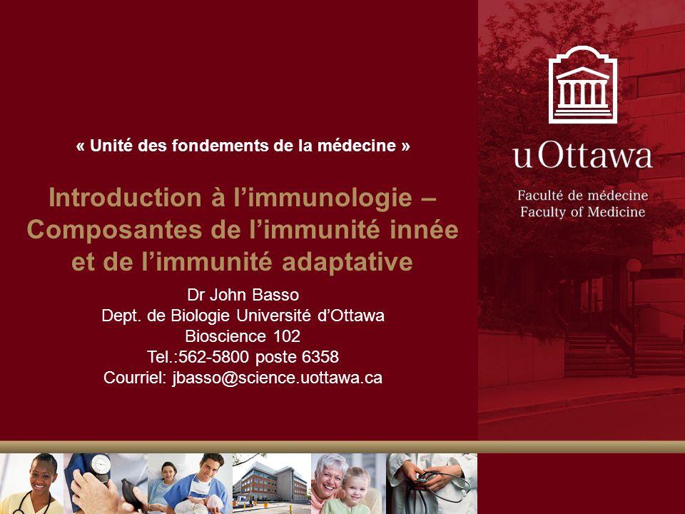 « Unité des fondements de la médecine »