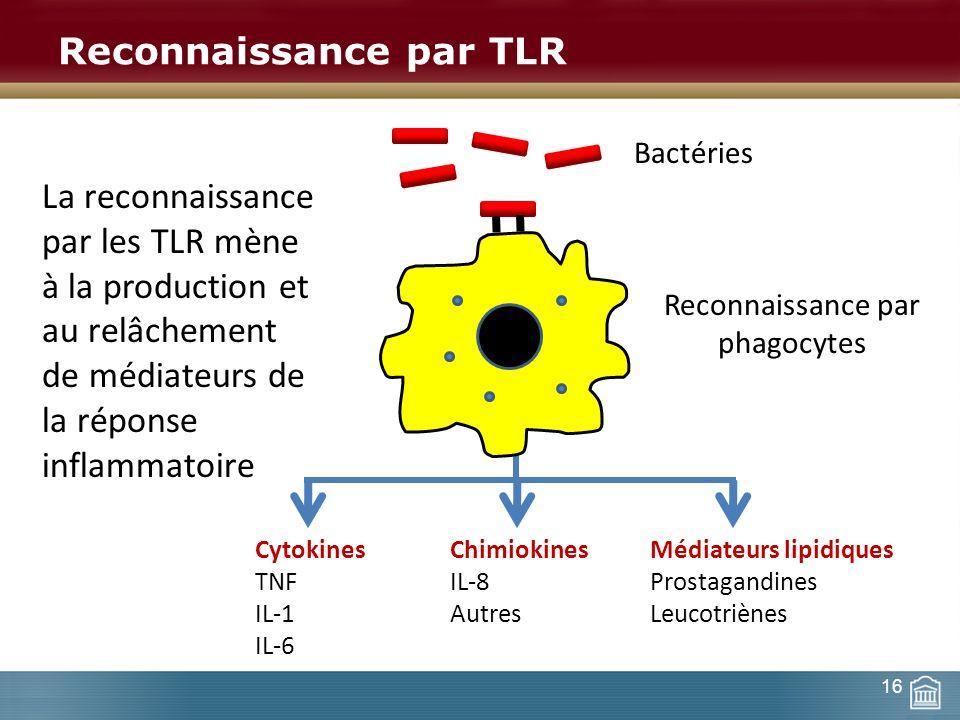 Reconnaissance par TLR