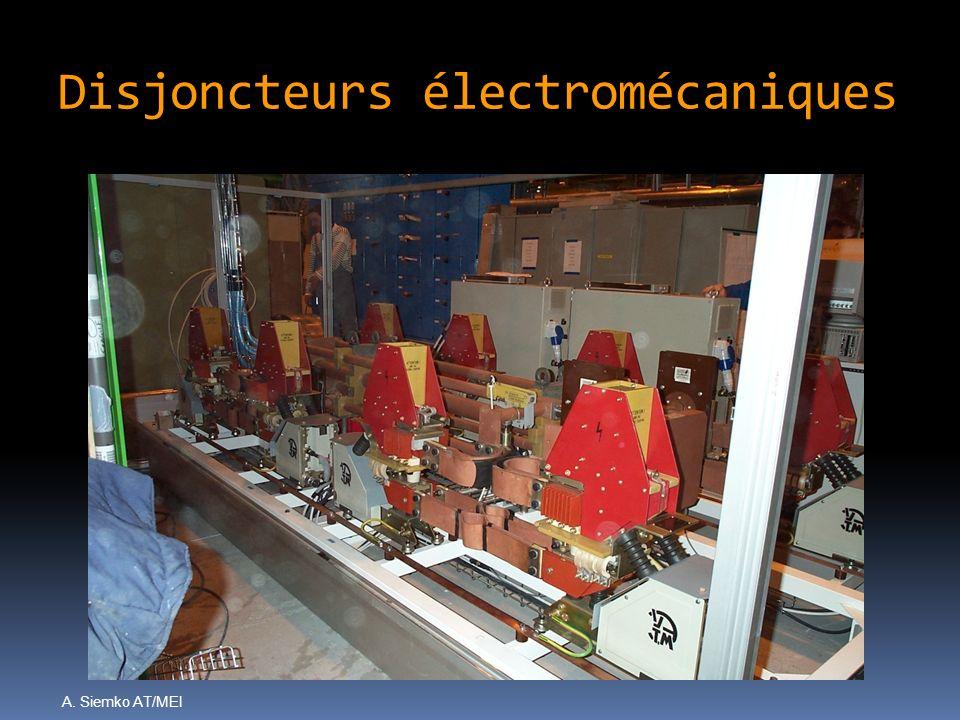 Disjoncteurs électromécaniques