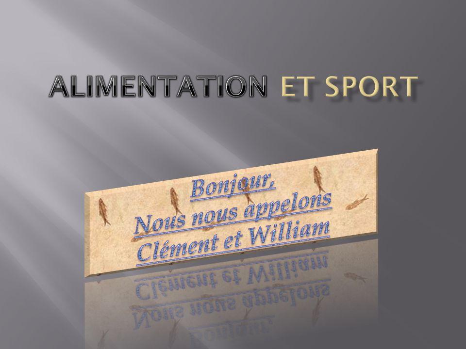 Bonjour, Nous nous appelons Clément et William